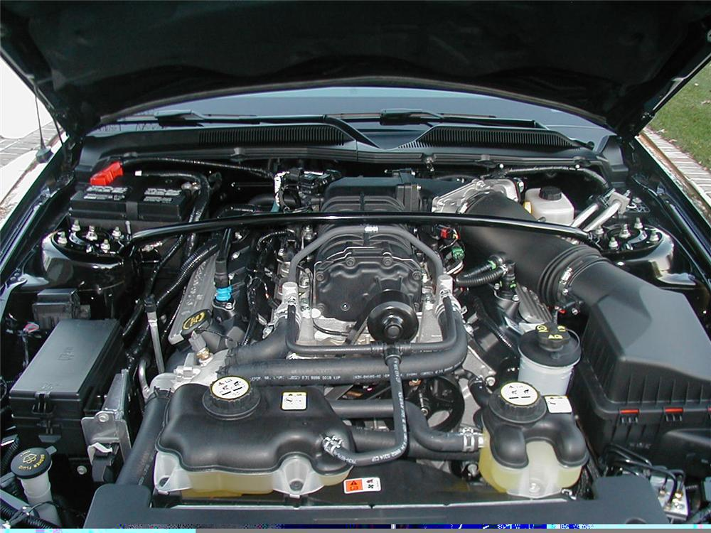 2007 FORD SHELBY GT500 CONVERTIBLE - Engine - 49355