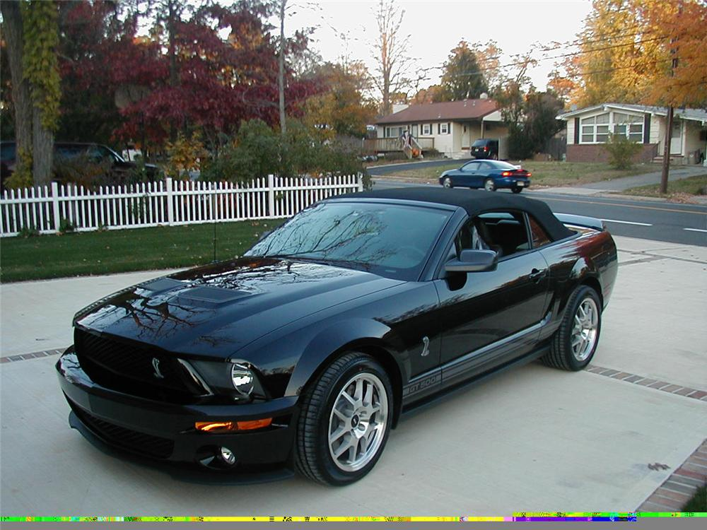 2007 FORD SHELBY GT500 CONVERTIBLE - Front 3/4 - 49355