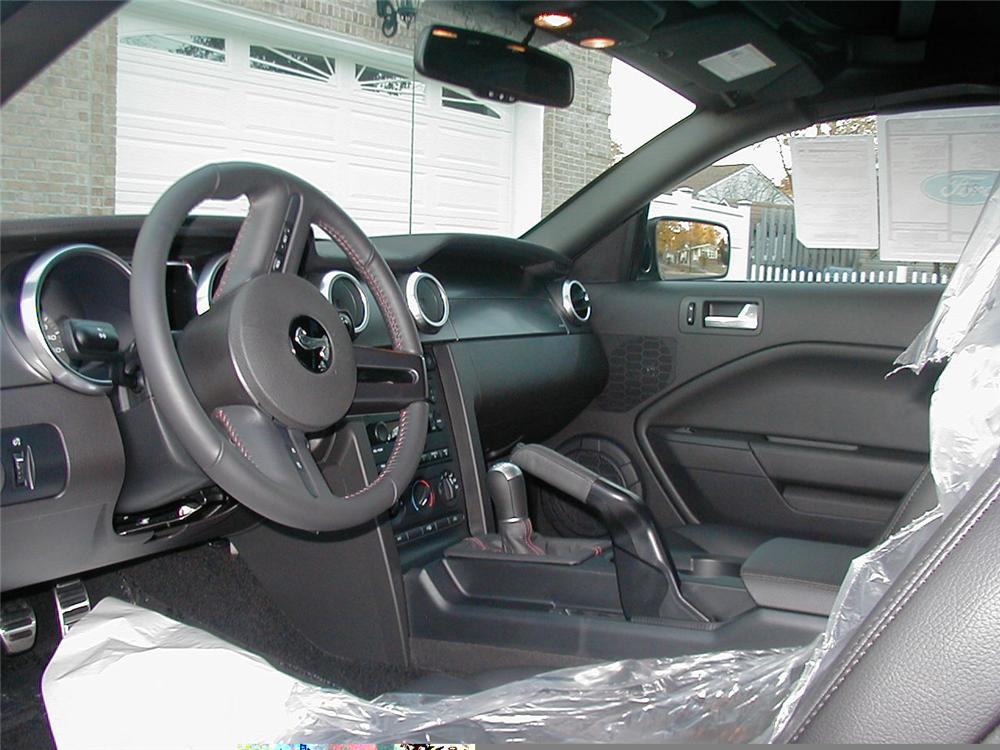 2007 FORD SHELBY GT500 CONVERTIBLE - Interior - 49355