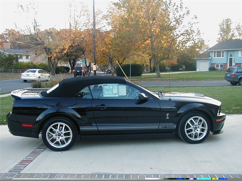 2007 FORD SHELBY GT500 CONVERTIBLE - Side Profile - 49355