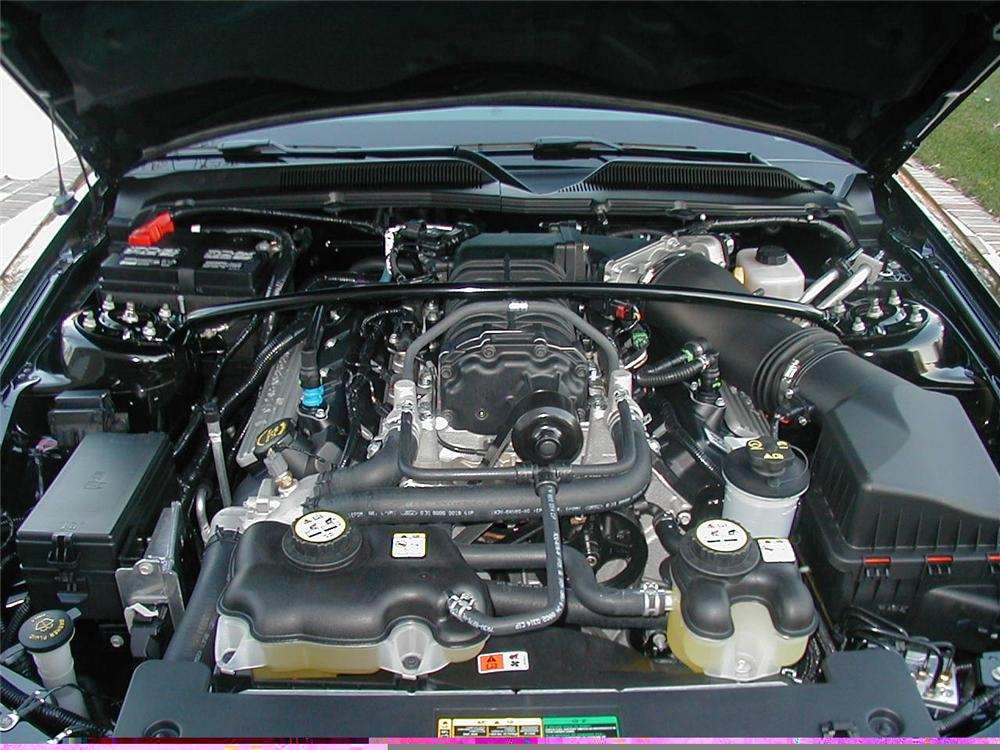 2007 FORD SHELBY GT500 FASTBACK - Engine - 49356