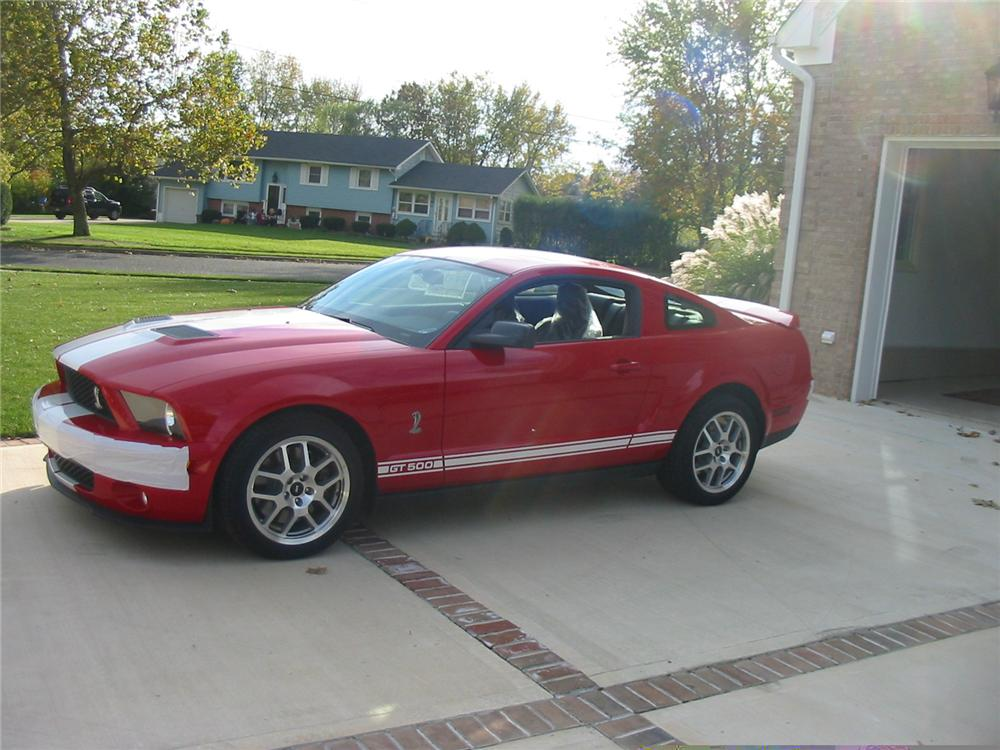 2007 FORD SHELBY GT500 FASTBACK - Front 3/4 - 49356