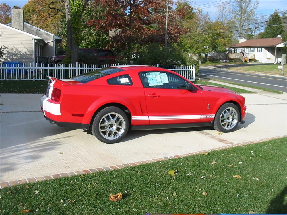 2007 FORD SHELBY GT500 FASTBACK - Rear 3/4 - 49356