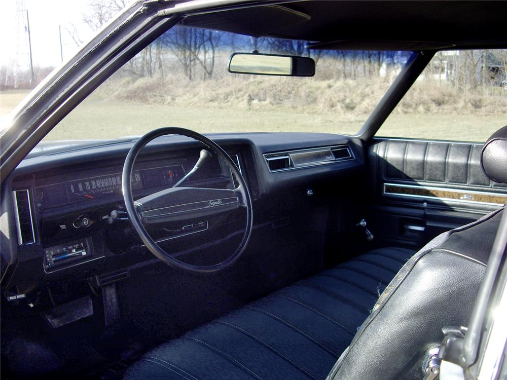 1972 CHEVROLET IMPALA 2 DOOR HARDTOP - Interior - 49358