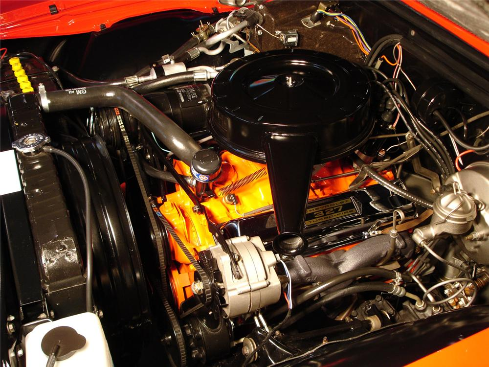 1965 CHEVROLET IMPALA SS CONVERTIBLE - Engine - 49370