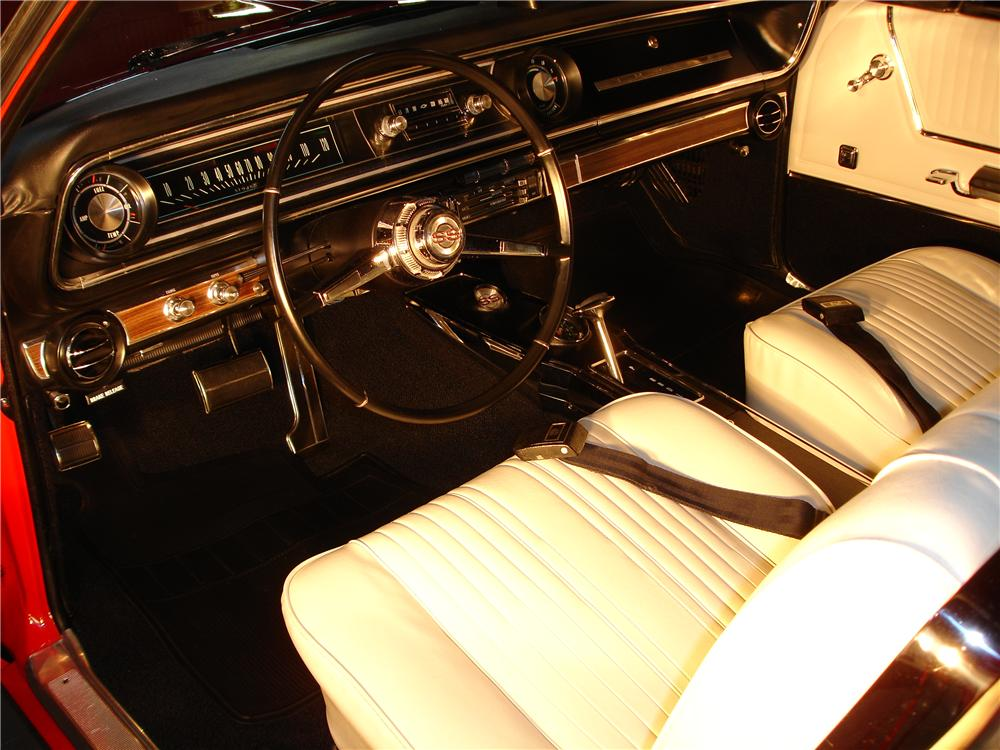 1965 CHEVROLET IMPALA SS CONVERTIBLE - Interior - 49370