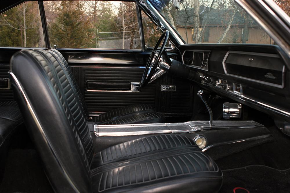 1967 PLYMOUTH GTX 2 DOOR HARDTOP HEMI RE-CREATION - Interior - 49383