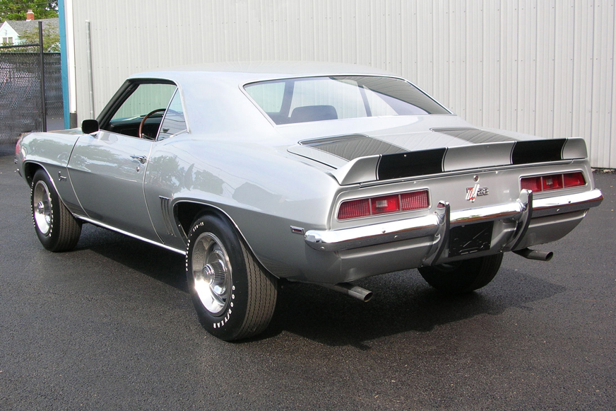 1969 CHEVROLET CAMARO Z/28 COUPE - Rear 3/4 - 49387