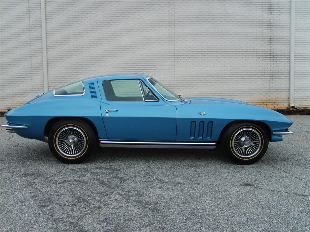 1965 CHEVROLET CORVETTE COUPE - Side Profile - 49400