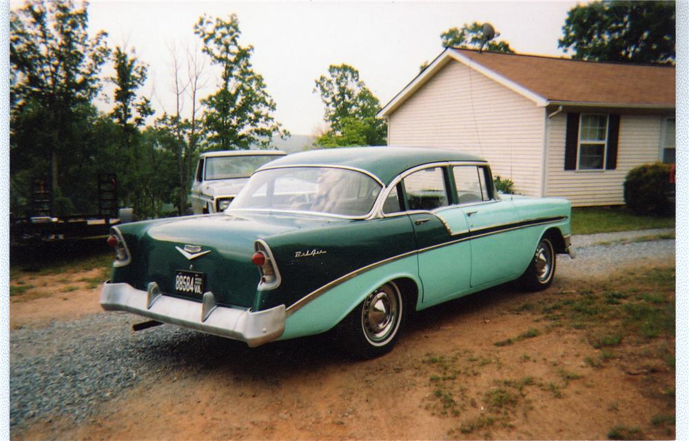 1956 chevrolet bel air 4 door sedan 49404