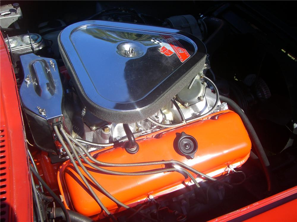 1967 CHEVROLET CORVETTE CONVERTIBLE - Engine - 49413