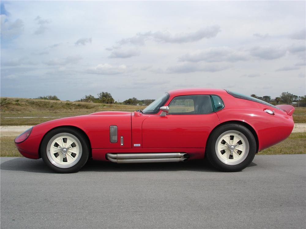 2004 SUPERFORMANCE BROCK DAYTONA COUPE RECREATION - Side Profile - 49414