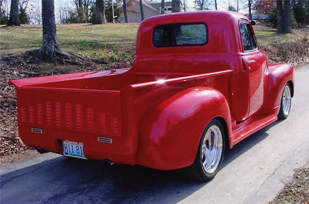 1947 CHEVROLET 1/2 TON PICKUP - Rear 3/4 - 49426