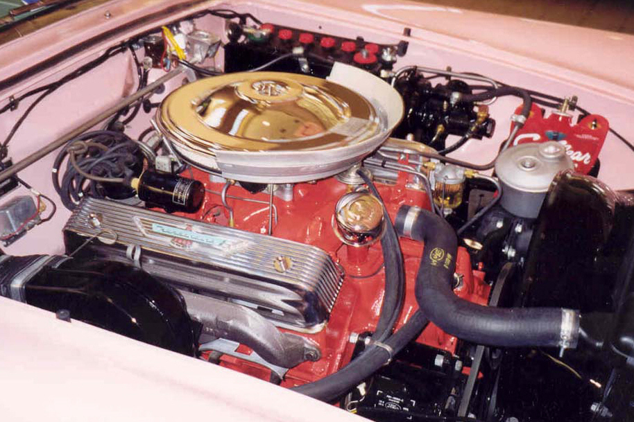 1957 FORD THUNDERBIRD CONVERTIBLE - Engine - 49429