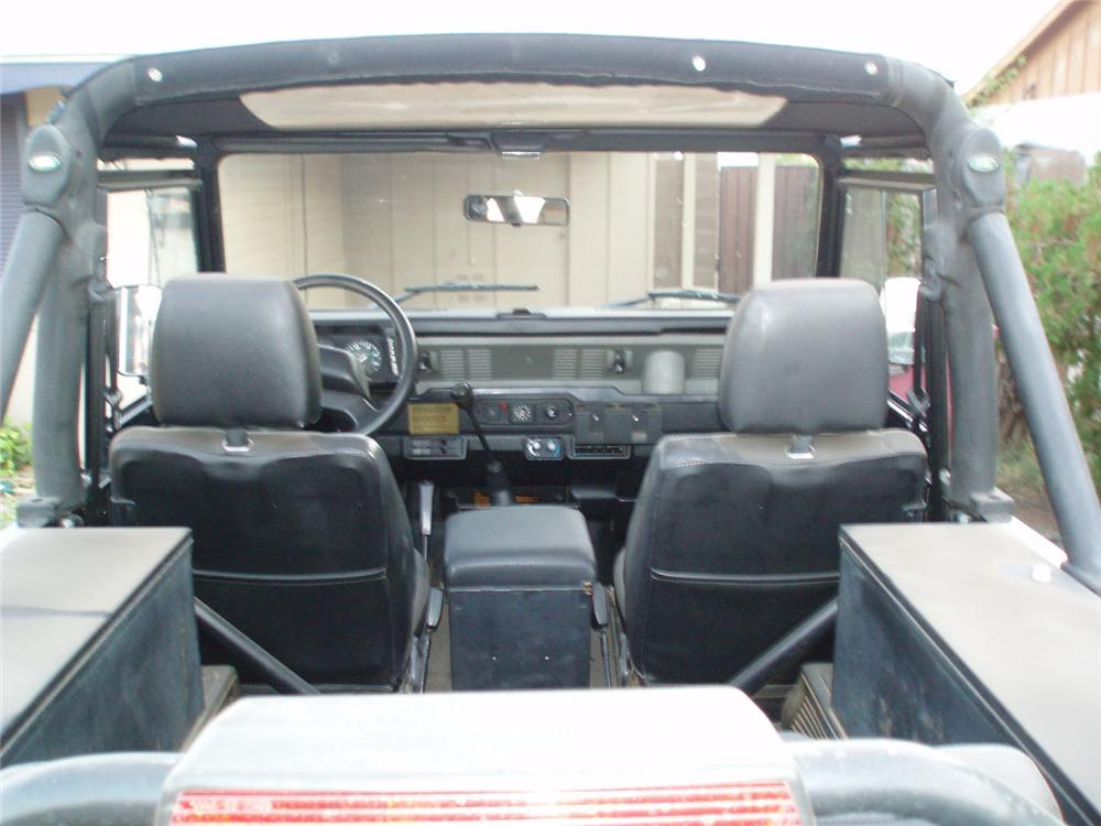1995 LAND ROVER DEFENDER 90 2 DOOR CONVERTIBLE - Interior - 49439