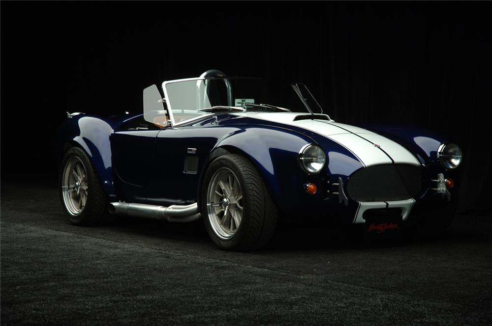 1965 FACTORY FIVE SHELBY COBRA RE-CREATION ROADSTER - Front 3/4 - 49443