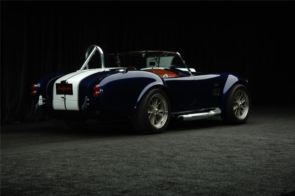 1965 FACTORY FIVE SHELBY COBRA RE-CREATION ROADSTER - Rear 3/4 - 49443