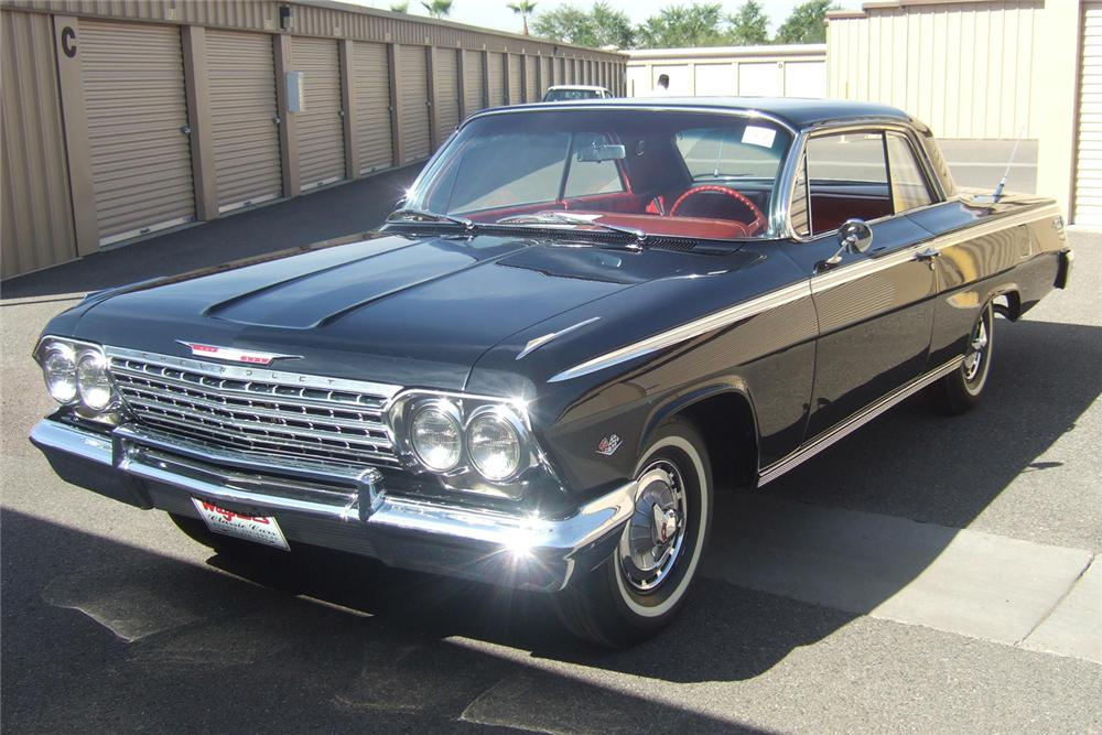 1962 CHEVROLET IMPALA SS COUPE - Front 3/4 - 49445