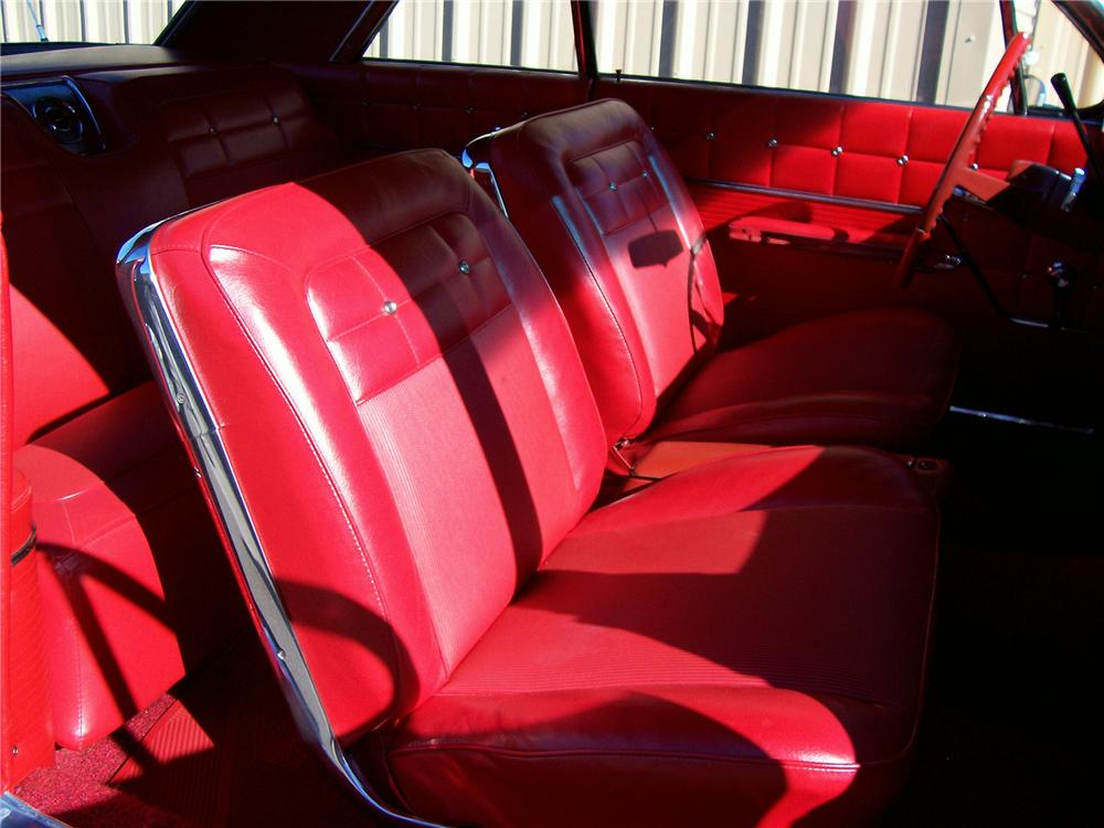 1962 CHEVROLET IMPALA SS COUPE - Interior - 49445