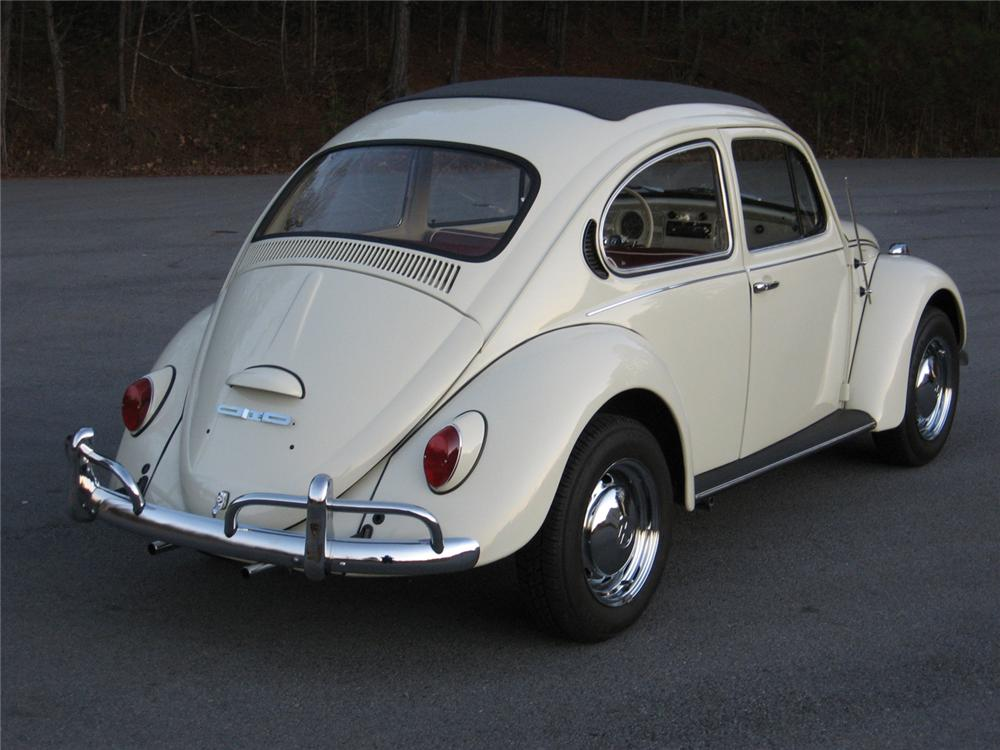 1971 VOLKSWAGEN BEETLE RE-CREATION COUPE - Rear 3/4 - 49448