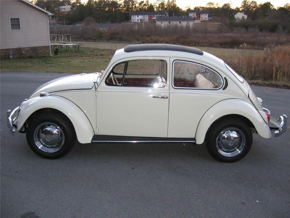 1971 VOLKSWAGEN BEETLE RE-CREATION COUPE - Side Profile - 49448
