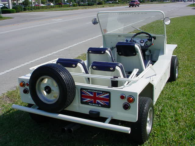 1967 MORRIS MINI MOKE CONVERTIBLE - Rear 3/4 - 49452