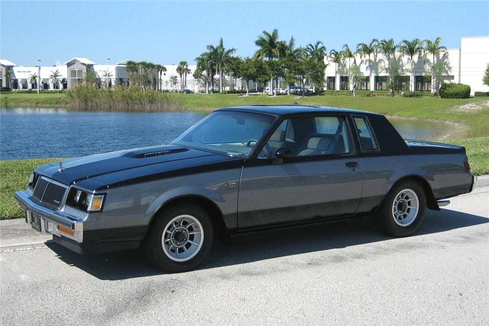 1986 BUICK REGAL T-TYPE COUPE - Front 3/4 - 49457