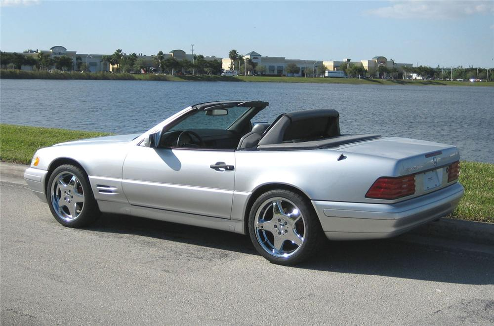 1998 MERCEDES-BENZ 500SLR CONVERTIBLE - Rear 3/4 - 49458