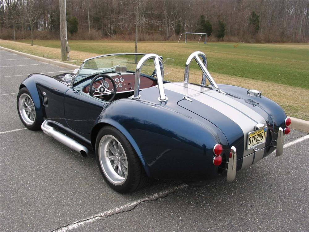1965 FACTORY FIVE SHELBY COBRA RE-CREATION   - Rear 3/4 - 49459