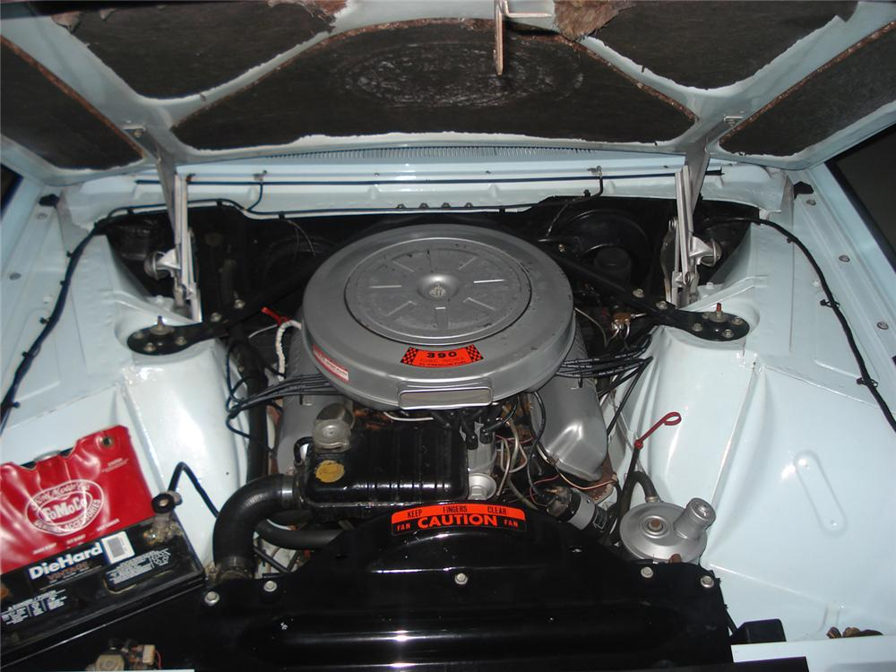 1962 FORD THUNDERBIRD CONVERTIBLE - Engine - 49469