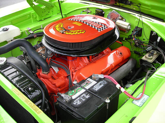 1970 PLYMOUTH ROAD RUNNER 2 DOOR HARDTOP - Engine - 49471