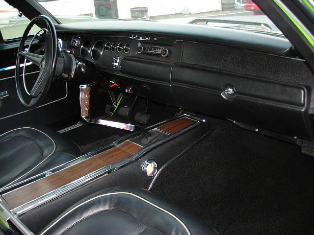 1970 PLYMOUTH ROAD RUNNER 2 DOOR HARDTOP - Interior - 49471