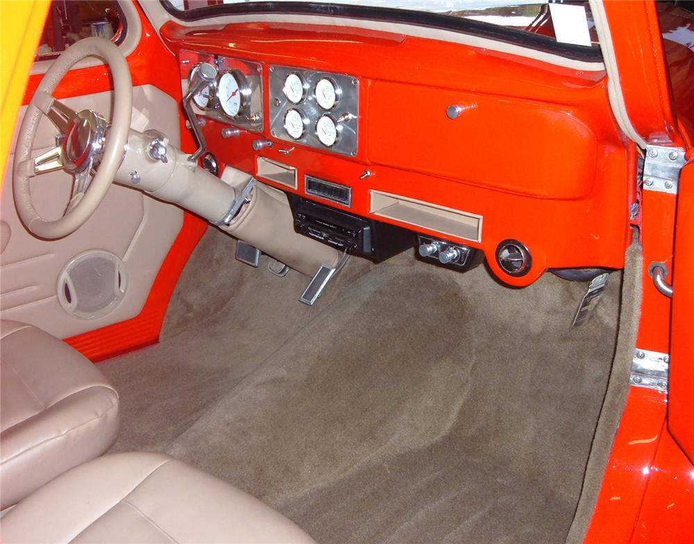 1941 WILLYS CUSTOM COUPE - Interior - 49472