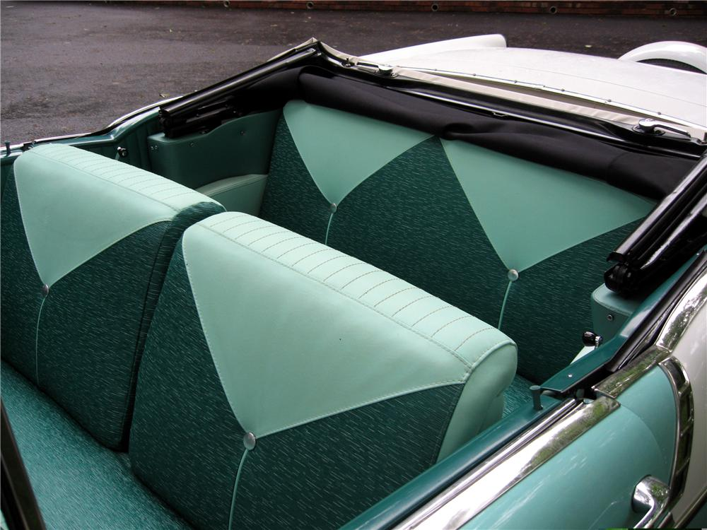 1956 CHEVROLET BEL AIR CONVERTIBLE - Interior - 49487