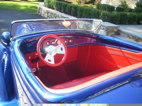 1936 FORD STREET ROD ROADSTER - Interior - 49489