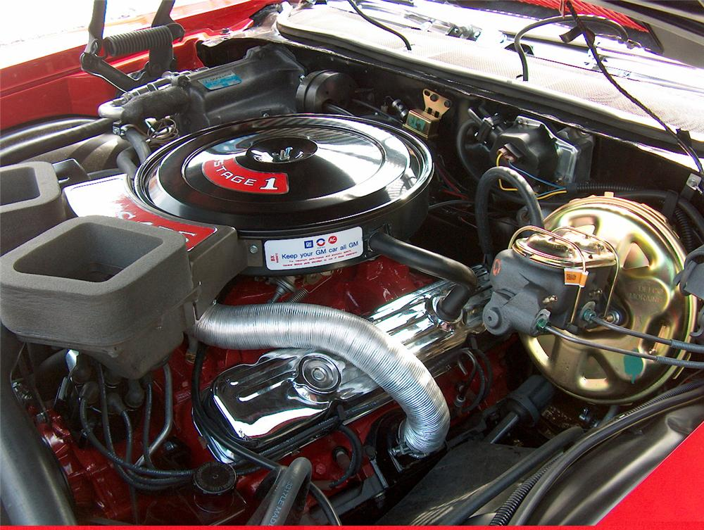 1971 BUICK STAGE ONE GS CONVERTIBLE - Engine - 49490