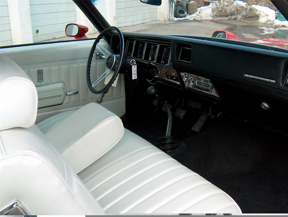 1971 BUICK STAGE ONE GS CONVERTIBLE - Interior - 49490