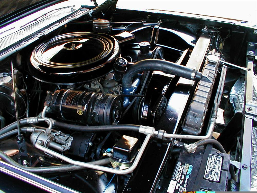 1960 CADILLAC SERIES 62 CONVERTIBLE - Engine - 49493