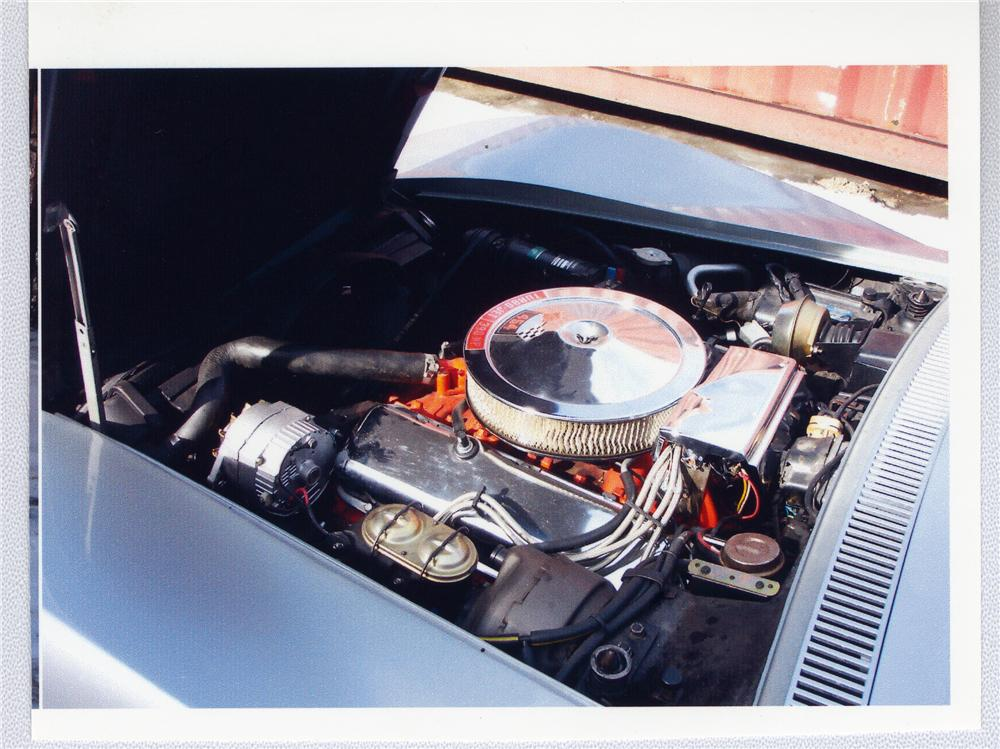1970 CHEVROLET CORVETTE COUPE - Engine - 49501