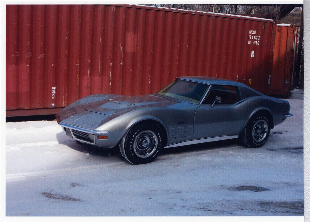 1970 CHEVROLET CORVETTE COUPE - Front 3/4 - 49501