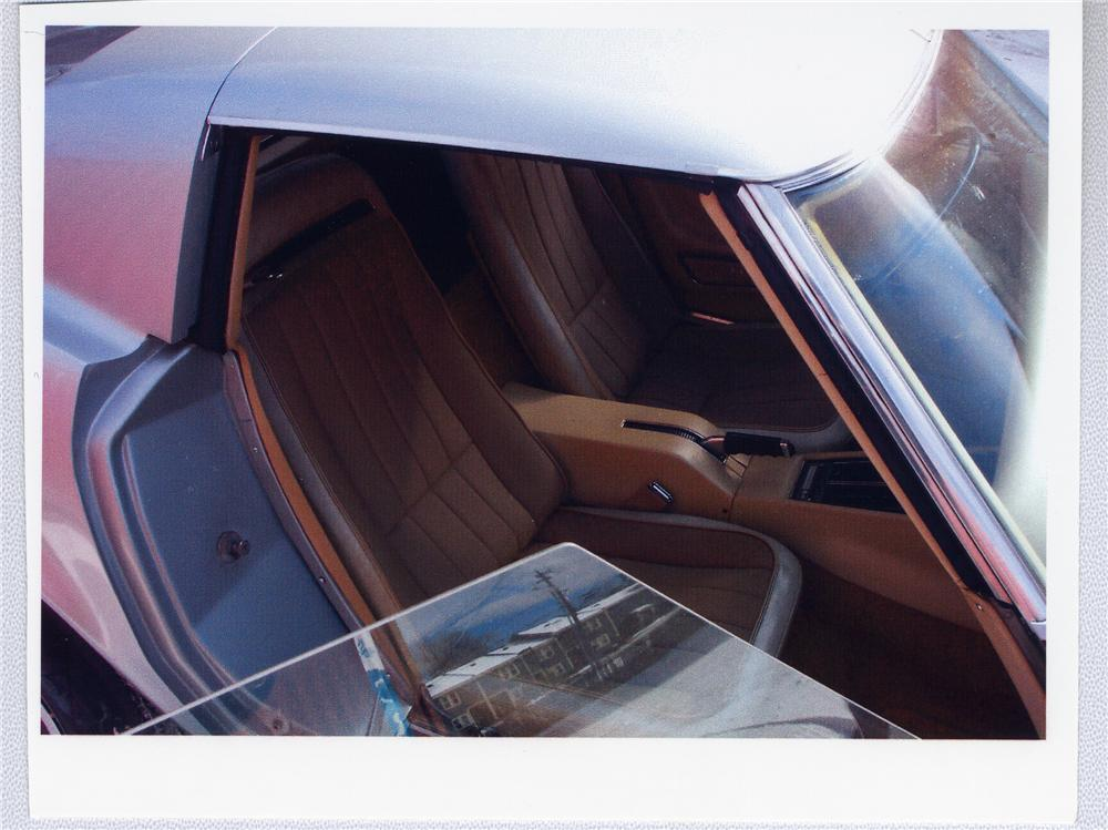 1970 CHEVROLET CORVETTE COUPE - Interior - 49501