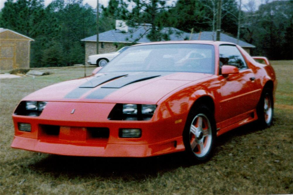 1992 CHEVROLET CAMARO COUPE - Front 3/4 - 49507