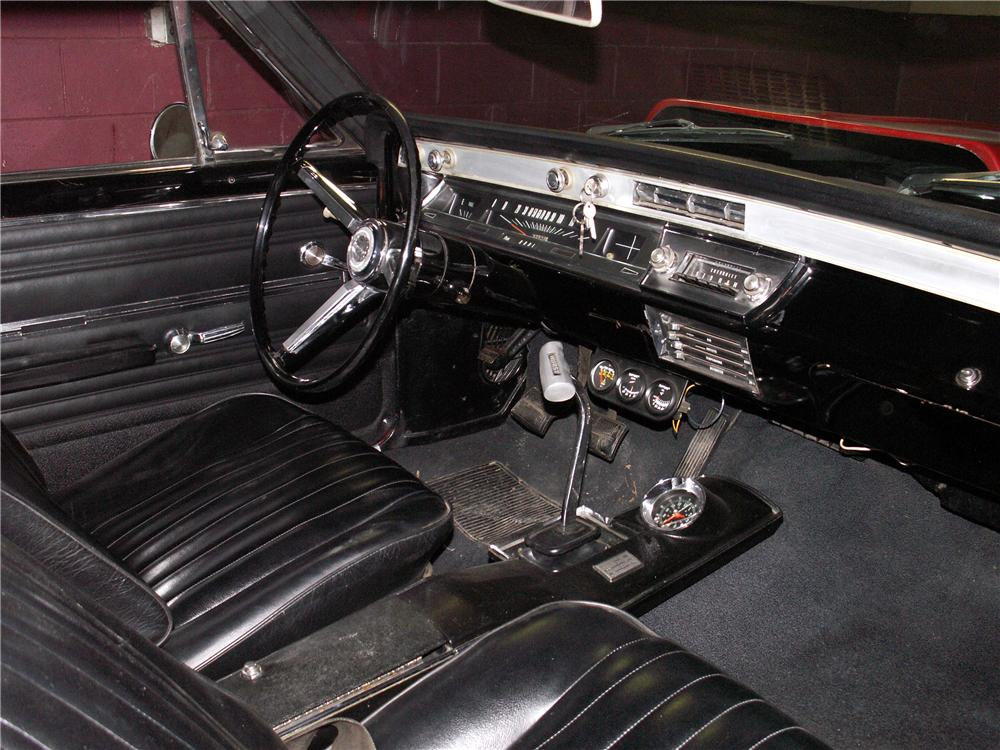 1966 CHEVROLET CHEVELLE SS 396 RE-CREATION COUPE - Interior - 49521