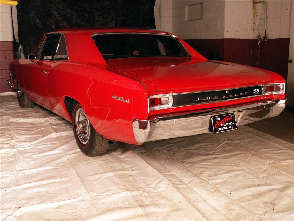 1966 CHEVROLET CHEVELLE SS 396 RE-CREATION COUPE - Rear 3/4 - 49521