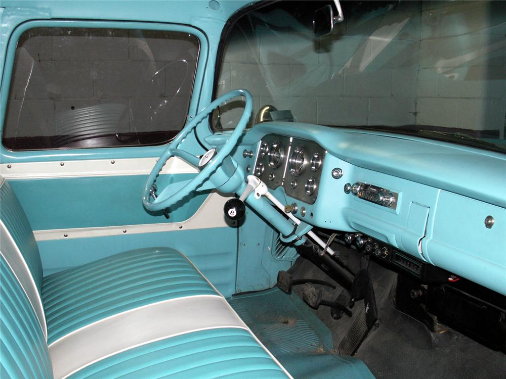 1957 GMC CUSTOM PICKUP - Interior - 49522