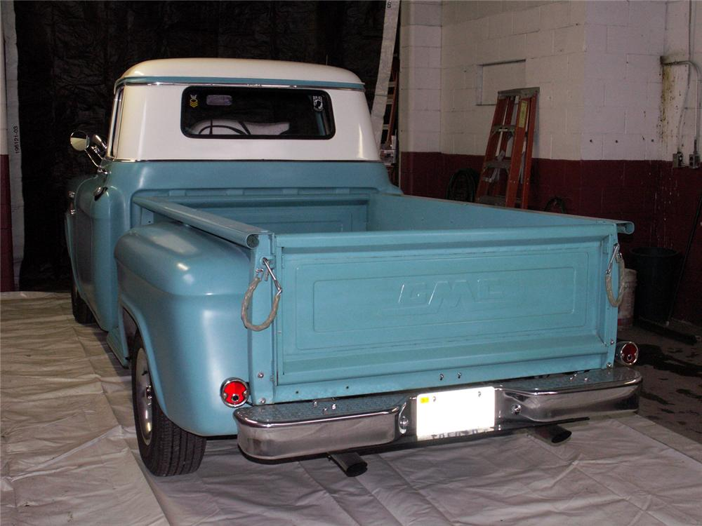 1957 GMC CUSTOM PICKUP - Rear 3/4 - 49522
