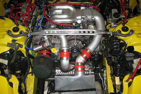 1993 MAZDA RX7 R1 CUSTOM COUPE - Engine - 49524