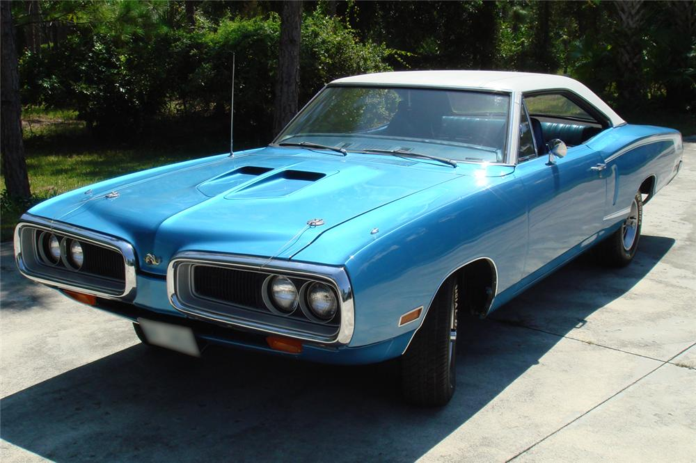 1970 DODGE SUPER BEE 2 DOOR HARDTOP - Front 3/4 - 49526