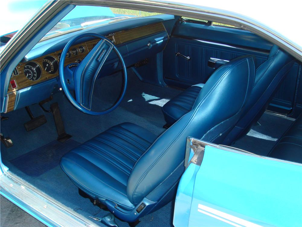 1970 DODGE SUPER BEE 2 DOOR HARDTOP - Interior - 49526