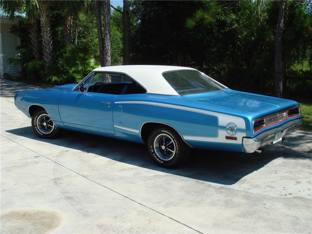 1970 DODGE SUPER BEE 2 DOOR HARDTOP - Rear 3/4 - 49526